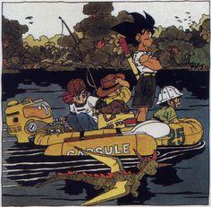 Dragon Ball Volume 25 cover art by Akira Toriyama.