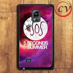 5 Seconds Of Summer Samsung Galaxy Note Edge Case