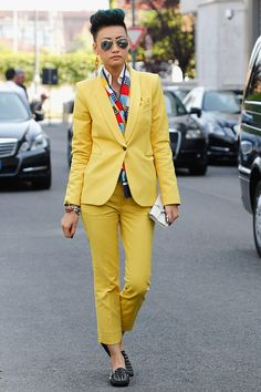 Esther Quek: MY STYLE ICON OMGGGG  Article: 33 Women Who've Rocked Suits Better Than Men