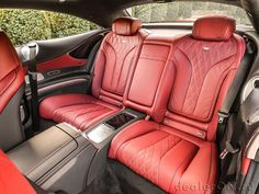 Car Interior Upholstery, Automotive Upholstery, Custom Car Interior, Truck Interior, Interior Ideas, Mercedes Benz S550 Coupe, Car Wallpapers, Custom Cars, Luxury Cars