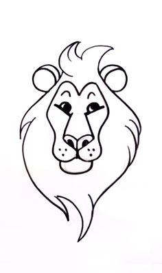 This step-by-step #drawing lesson will teach you how to draw a lion, the king of wildlife!