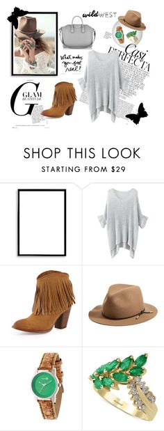 """wild west :D"" by meladelic ❤ liked on Polyvore featuring Spell & the Gypsy Collective, Bomedo, Whiteley, Frye, rag & bone, Effy Jewelry and Givenchy"
