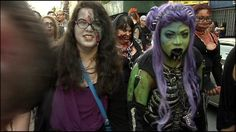 #NEWYORK #SWD #GREEN2STAY 8th annual NYC zombie bar crawl Posted: May 26, 2014 1:09 PM Updated: May 27, 2014 7:49 AM By MYFOX NEW YORK STAFF  NEW YORK (MYFOXNY) - Zombies that swarmed through Brooklyn over the weekend weren't out for blood or brains. Read more: http://www.myfoxny.com/story/25610016/8th-annual-nyc-zombie-bar-crawl#ixzz32t8V