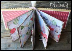Stampin' Up: Mother's Day Mini Album by Artisan Design Team 2012-2013 member Erica Cerwin