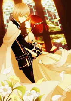 Zen and Shirayuki - Akagami no Shirayuki-hime