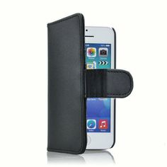 d0e8b1e1606 Details over Flip wallet case hoesje voor iPhone 5c - zwart