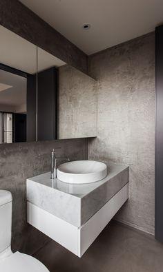marble bathroom / WEI YI DESIGN ASSOCIATES   THE INITIATION