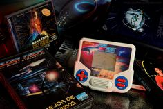 Star Trek -The Next Generation Tiger handheld retro console.