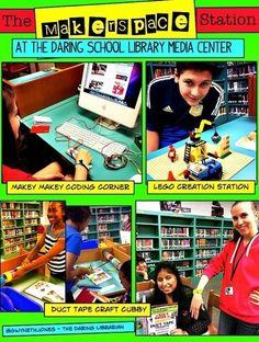 The Daring Librarian: Makerspace Starter Kit   School Libraries as Makerspaces   Scoop.it