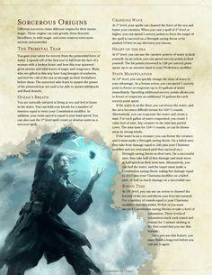 Sorcerer Origin - The Primeval Tear