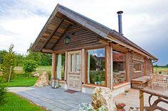 Sternegucker Chalet - Innovativ und mit Herzblut restaurierte Jagdhütte aus traditionellen Baustoffen.