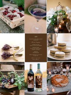 Rustic Wedding Centerpiece Ideas | ... row: Left is by Martha Stewart , middle is by Wedding Paper Divas