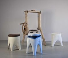 machine design création stool tabouret