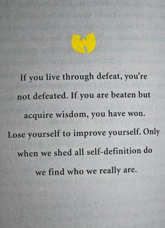 Wisdom of the all mighty wu tang clan