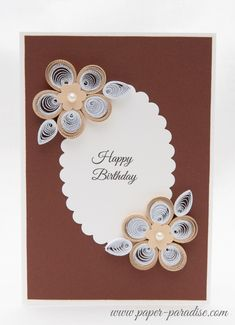 kartki ręcznie robione urodzinowe
