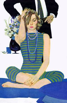 Vintage illustration by Coby Whitmore