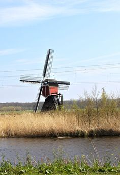 Windmill, The Netherlands | Design Mom http://www.travelbrochures.org/185/europa/escape-to-the-breathtaking-netherlands