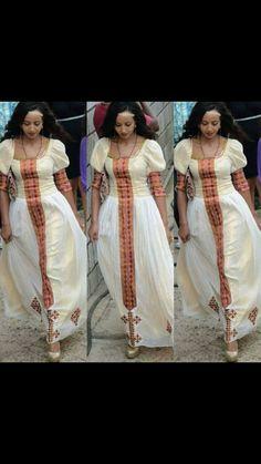 Beautiful Ethiopian dress #ethiopian#fashion#culture#african#habesha#habeshafashion