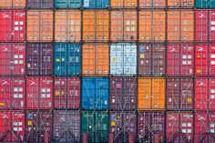 Legos of globalization #oceanshipping #shippingcontainers