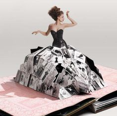 If only my pop-up books as a kid were designed by Neiman Marcus.