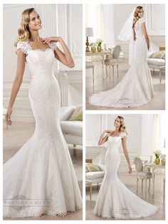 Cap Sleeves Straight Straps Neckline Mermaid Wedding Dresses Featuring Applique Crystal http://www.ckdress.com/cap-sleeves-straight-straps-neckline-mermaid-wedding-dresses-featuring-applique-crystal-p-316.html  #wedding #dresses #dress #lightindream #lightindreaming #wed #clothing #gown #weddingdresses #dressesonline #dressonline #bride