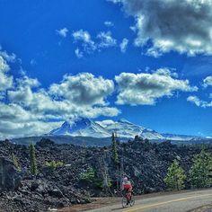 McKenzie Pass and the Cascade Mountains in Central Oregon ----------------- @mtnaltruist