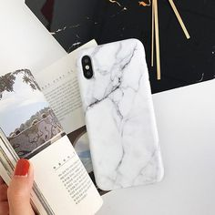 Chic Marble Case - White 2 / For iPhone 7 8