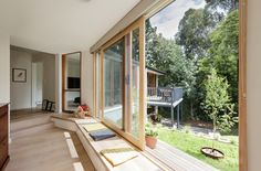 Window seat Doncaster House by Inbetween Architecture