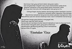 Jakarta, Puisi Monokrom l Runtuhan Rasa -ASG-