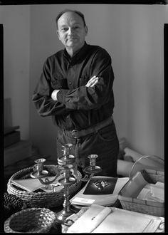 Michel Tournier (1924). French writer. Photo © Despatin & Gobeli, 1991