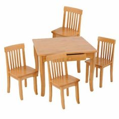Here\'s another giveaway. Go go go! Kids Table and Chair Set - Svan ...