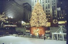 On My Bucket List... Christmas in New York City... Just one of the things to see - the Rockefeller Center Christmas Tree is an annual Christmas Tree lighting that takes place in New York City's Rockefeller Center NYC, NY