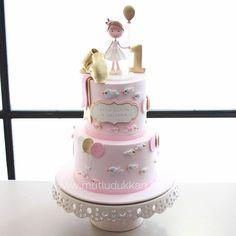 Gold & pink #mutludukkan #sekerhamuru #butikpasta #sugarart