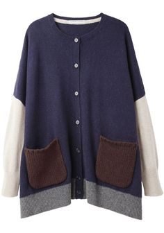 Tsumori Chisato / Nelson Patchwork Cardigan - needn't be as schlumpy as it looks here. Tough it up with a pair of Daytons.