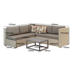 3-Piece Havana Wicker Set - Lowest Prices & Specials Online | Makro Outdoor Sectional, Sectional Sofa, Outdoor Furniture, Outdoor Decor, Havana, 3 Piece, Wicker, Home Decor, Modular Couch