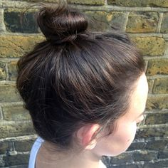 11c0ce6df68 Great for yoga and pilates so it does not get in the way. The best  hairstyles to wear to the gym - top knot bun - handbag.com. Intersport Tony  Pryce
