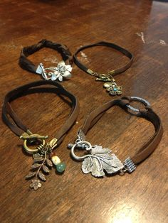 Leather bracelets by BlackByrd Jewelry,leather bracelets shop at www.cost21.com