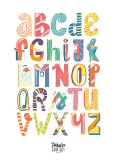 Typography by michal hazior, via Behance Typography Served, Typography Alphabet, Creative Typography, Typography Fonts, Cute Alphabet, Alphabet Art, Alphabet And Numbers, Letter Art, Alphabet Design