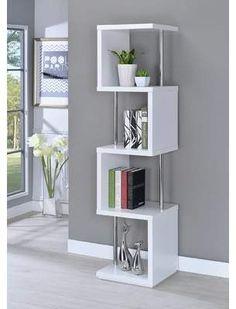 Orren Ellis Lafave Geometric Bookcase Orren Ellis