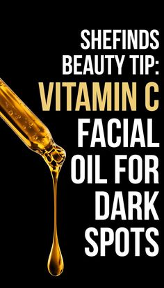 15ca50b8b497 Looking for a good facial oil for dark spots? Find out which formula uses  the