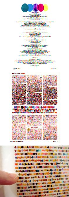 A System of Braille for the Colour Inclined, by Lauren Dicioccio, via plentyofcolour