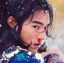 Takeshi Kaneshiro in House of Flying Daggers (dir. Takeshi Kitano, Takeshi Kaneshiro, Lotr Elves, House Of Flying Daggers, Zhang Ziyi, Hi Boy, Chinese Movies, Above The Clouds, Music Tv