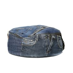 Stoere jeans zitzak