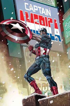 Art from Captain America #11