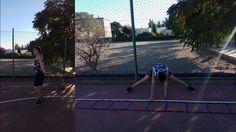 Jorge mejora de Técnica entrenamiento individual izquierda 8 de Octubre ...