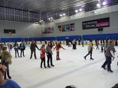 The (now refurbished) Ice Rink. A traditional 1980's Billingham venue for bruised knees, fractured arms, sprained ankles and broken hymens