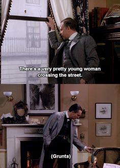 A very pretty young woman. (Meh.)   Sherlock Holmes