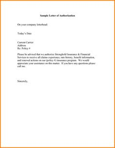 Authorization letter 1 pinterest letter sample authorization letter receive passport ledger paper notarized parental sample altavistaventures Choice Image