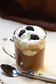 Mogyorós latte recept