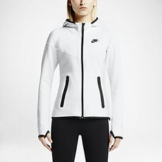 Nike Tech Fleece Full-Zip Women's Hoodie. Nike Store